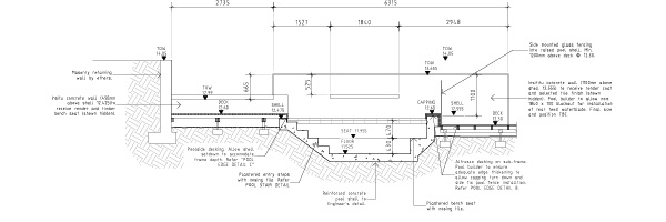 Pool Design Drawings Perth